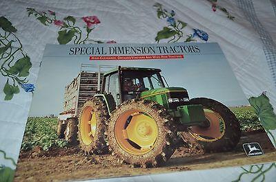 Original John Deere Sales Brochure Specialty Tractors Orchard Vineyards  M1295
