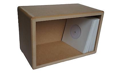 """7"""" / 45's Vinyl Storage Cube LP Record Box Cabinet Case Unit"""