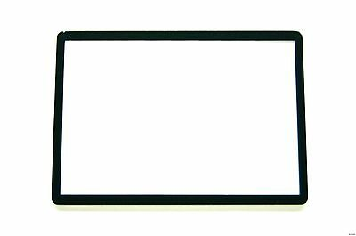 Canon EOS 60D LCD Window outer Glass Screen Display +Tape adhesive