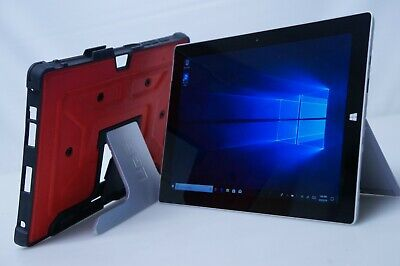 Microsoft Surface 3 Tablet Intel Core CPU 128GB SSD Win.10 + UAG Case (Verizon) (Verizon Laptop)