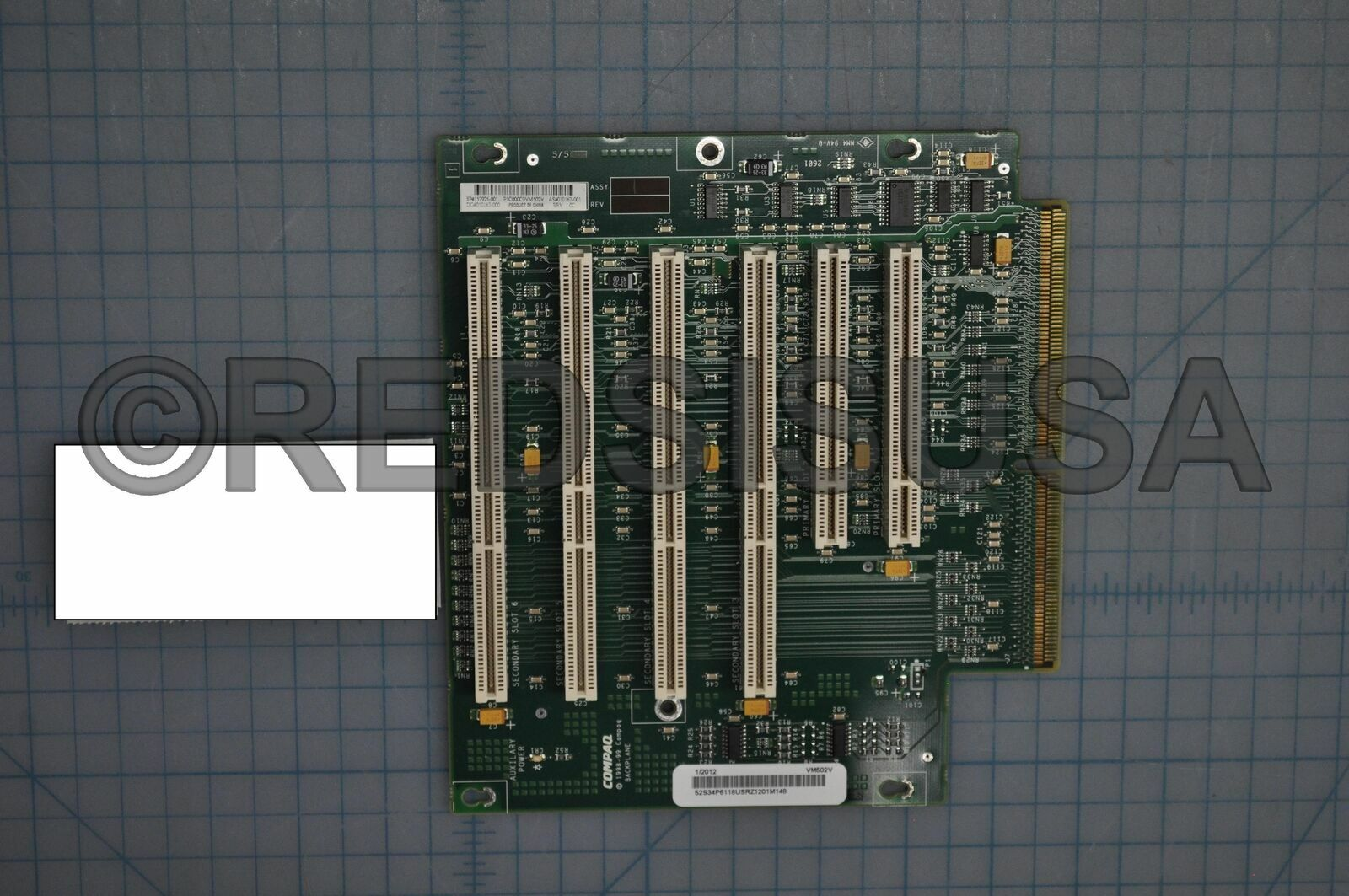 HP Board Riser PCI 6 slots for Proliant ML370R01157925-001