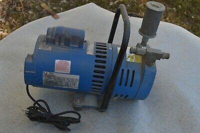 Gast Emerson 1023-p152-g608ex Rotary Vane Compressor Vacuum Pump 115v 34hp