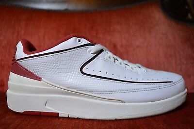 the latest d1989 8307d Nike Air Jordan 2 II Retro Low White Varsity Red 2004 Edition 309837 101 DS  VI