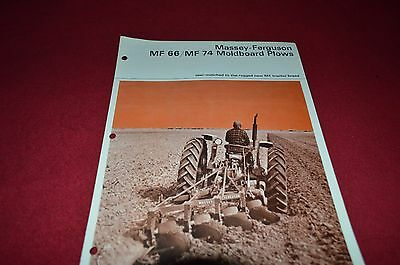 Massey Ferguson 66 74 Mounted Plow Dealer's Brochure DCPA