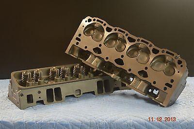 96 02 Chevy 350 57L V8 SBC 062906 Vortec Cylinder Head PAIR
