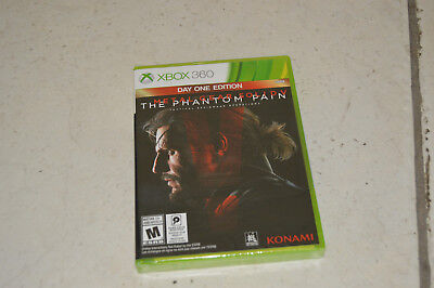 *NEW* Metal Gear Solid V: The Phantom Pain Day One Edition (Xbox 360, 2015)