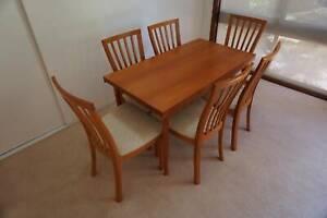 Vintage Parker Furniture Teak Dining Suite