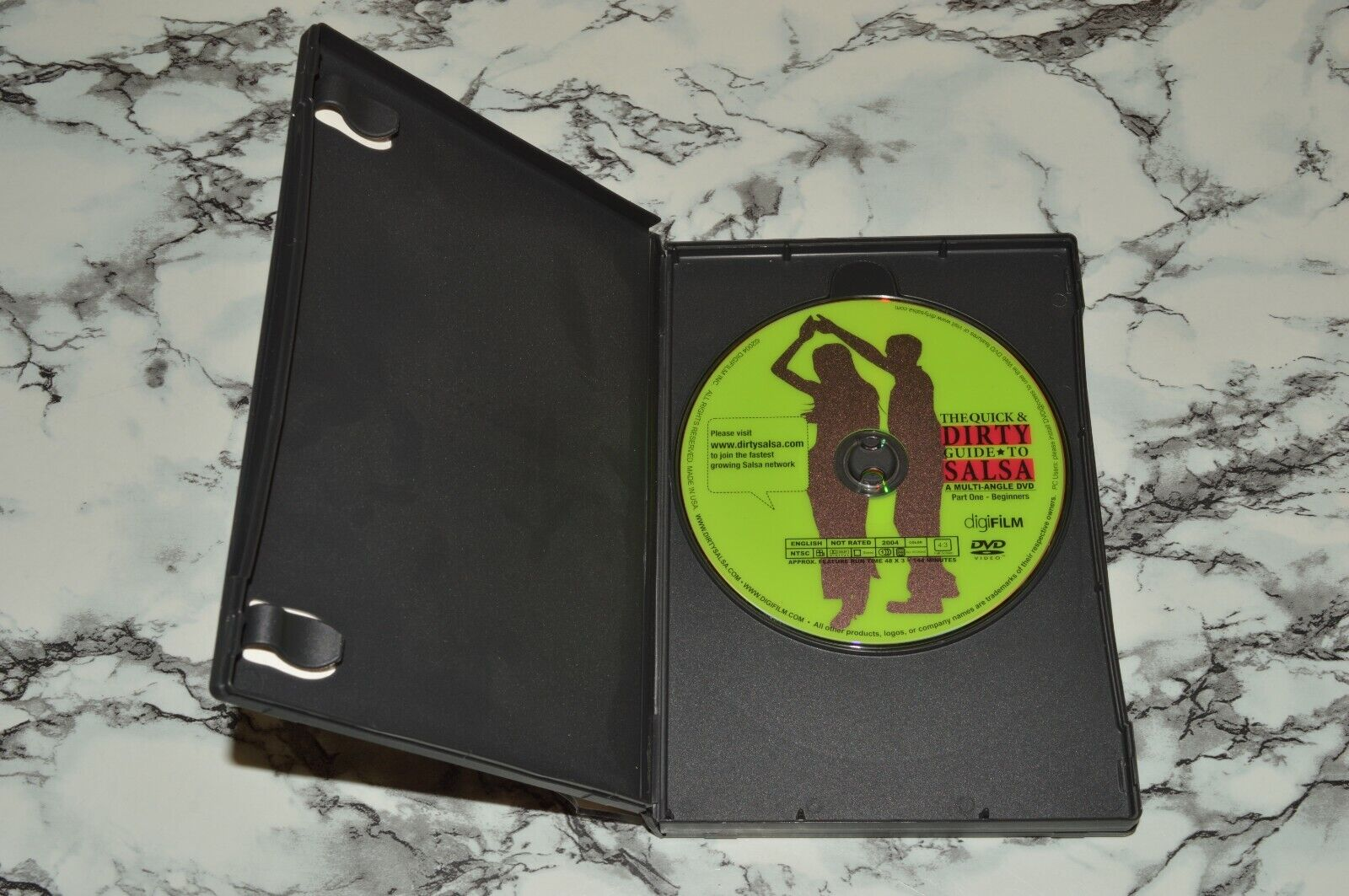The Quick Dirty Guide To Salsa 3-Disc DVD Box Set, 2006 -- Please Read  - $12.68