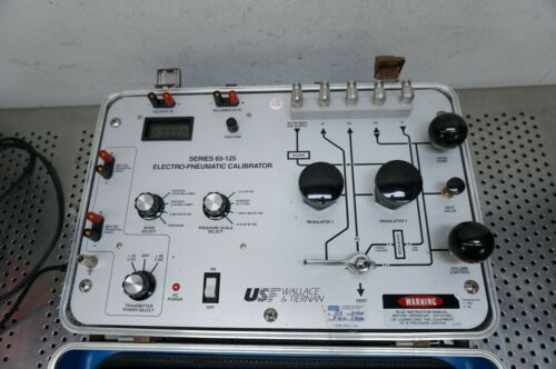 USF Wallace Tiernan Pennwalt 65-125 Pneumatic Calibrator