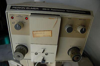 Pe Perkin Elmer Detector  Fluorescence 650-15 Spectrophotometer 250-700 Nm