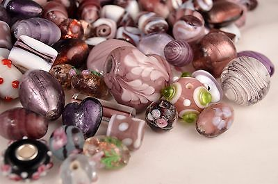 (10mm to 35mm Mixed Glass Lampwork Beads)