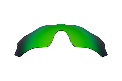 Replacement Lenses for Oakley Radar EV Path Sunglasses Anti-Scratch Green Mirror for sale  Shipping to India