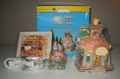 CINDERELLA'S DRESS SHOP 2000 Department 56 Storybook Village Collection - Cinderella Dress Shop