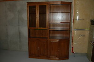 """60"""" wide 2pc wall unit, w/ hidden compartment Windsor Region Ontario image 6"""