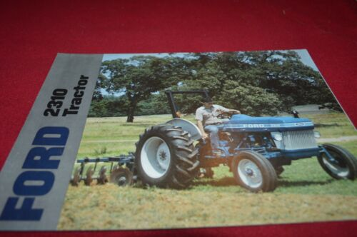 Ford 2310 Tractor Dealers Brochure AMIL15