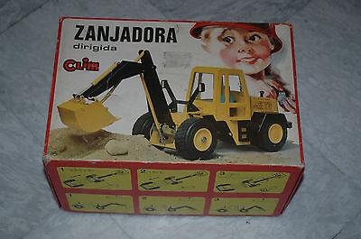 Vintage Clim Toys ZANJADORA CLIRIGIDA Ref 724 Made in Spain Battery Operated 70s segunda mano  Embacar hacia Argentina