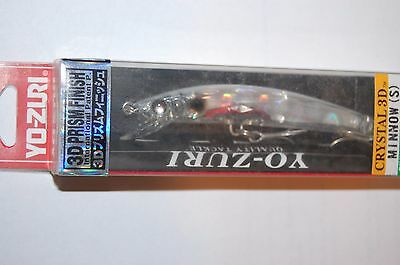 "Floating Crystal Minnow 3 5//8/"" Fishing Lure PIB# F6-C27 RARE Yo-Zuri 1//4 oz"