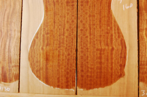 curly, quartersawn quilted sapele tonewood guitar luthier set back sides