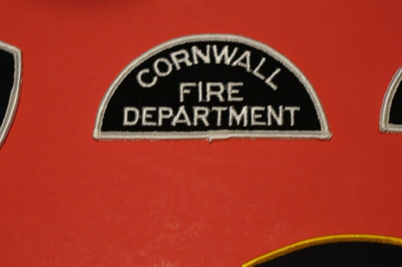 Canadian Cornwall Fire Department Patch