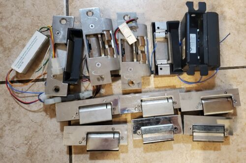 Qty 11pcs - Center Latch 24V Electric Strikes - Hes Eff Eff RCI Rutherford