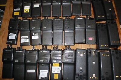 Lot Of 23 Motorola Mts2000 Radio H01kdd9pw1bn Batteries