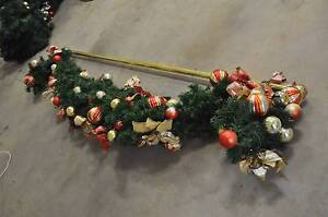 Swag With Golden colour Rod - Christmas decoration Ellis Lane Camden Area Preview