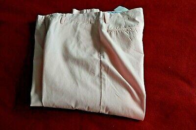 Polo Ralph Lauren Mens Cream Linen Silk Blend Pants Sz 36 X 32