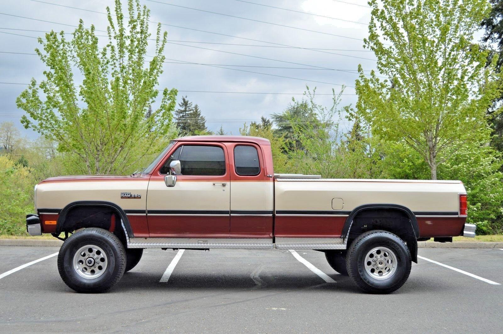 1993 Dodge Ram W250 Le 4x4 12 Valve 5 9 Cummins Diesel