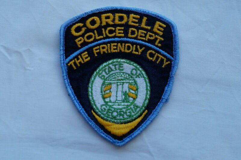 US Cordele Georgia Police Patch Obsolete
