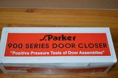 S.Parker 900 Series Door Closer Aluminum Finish