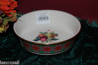 Lenox HOLIDAY Tartan Fruit Bowl(s) NEW USA 1st Q Lenox Holiday Fruit Bowl