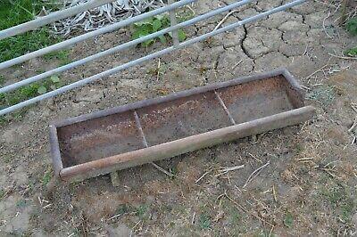 Vintage Cast Iron Trough - Use For Garden Planter/ Ornament
