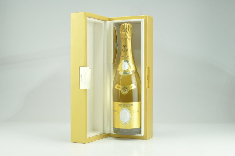 2008 Louis Roederer Cristal GB, Champagne RP--97+