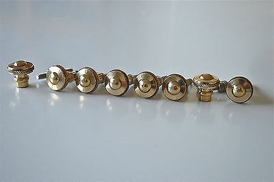 set of 8 superb quality antique brass furniture knobs handles chest knob 2010