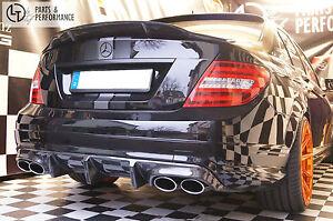 Echt Carbon Spoiler Abrisskante für Mercedes-Benz Renntech C W204 C204 AMG