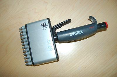 Matrix Pipette Pipet Multichannel 12 Channel 50 Ul Fixed Volume Ejector