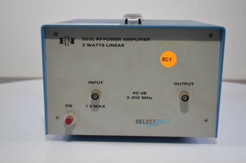 ENI 503L 2 MHz to 510 MHz, 3 W, 40 dB RF POWER AMPLIFIER