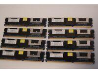 4GB Nanya NT4GT72U4ND1BD-3C Memory RAM 2Rx4 PC2-5300F