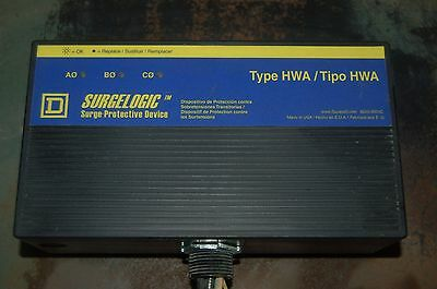 Square D Tvs4hwa 12x 120ka Surge Suppressor