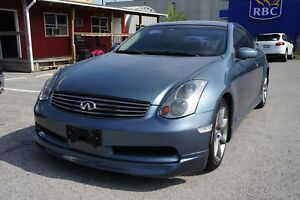 2005 INFINITI G35 PREMIUM | LEATHER | SUNROOF |