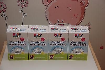 4-BOXES HiPP Organic COMBIOTIC Follow On Milk -Stage 2 -UK Version 800g EX-7/219