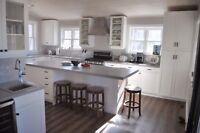 Custom kitchens and cabinetry