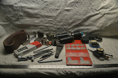 Large Flat Rate Box Of Machinist Tools