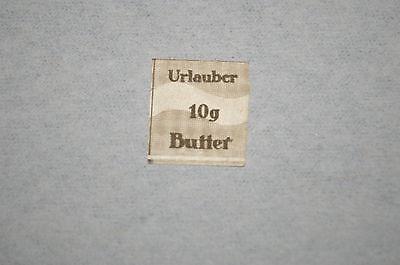 Deutsches Reich Lebensmittelmarke geschnitten *10 g Urlauber-Butter*    3. Reich