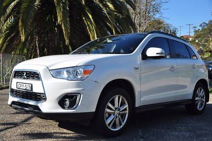 Mitsubishi ASX 2013 VERY LOW KM ready for sale Chatswood Willoughby Area Preview