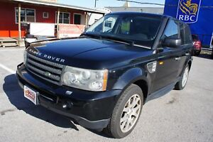 2008 Land Rover Range Rover Sport HSE   NAVI   LEATHER   SUNROOF