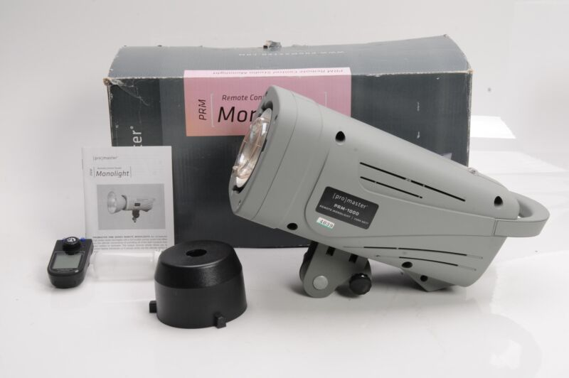 Promaster 6077 PRM-1000 Studio Monolight                                    #039