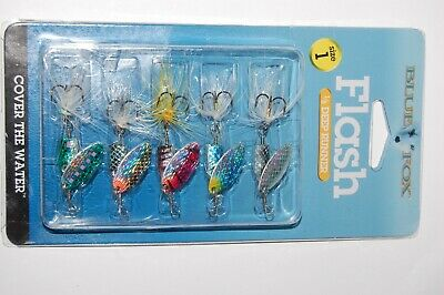 Blue Fox Vibrax Original 10g #4 VMC Hook Spinner Farben