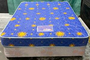 Excellent double bed base with mattress for sale. Delivery availa