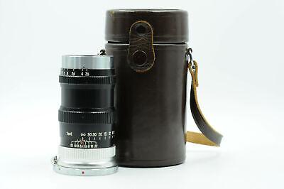 Nikon Nikkor 13.5cm [135mm] f3.5 Q.C. Nippon Kogaku Lens Rangefinder Black J#417